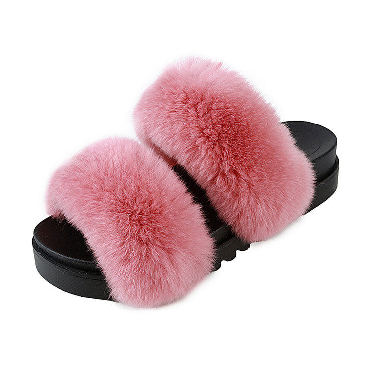 Shelby Furry Slippers | Shop Elettra |