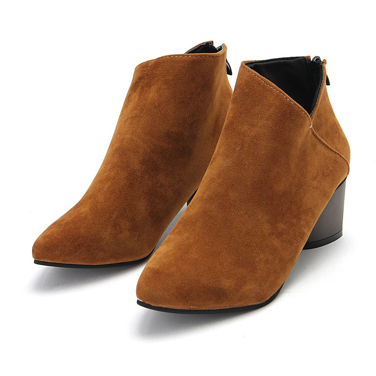Sophie Suede Ankle Boots | Shop Elettra |