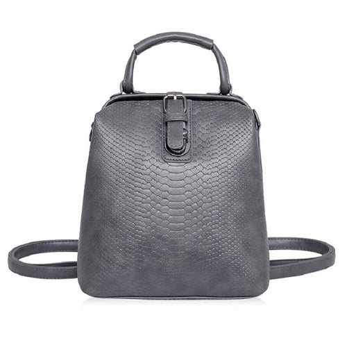 Crocodile Embossed Backpack | Shop Elettra |