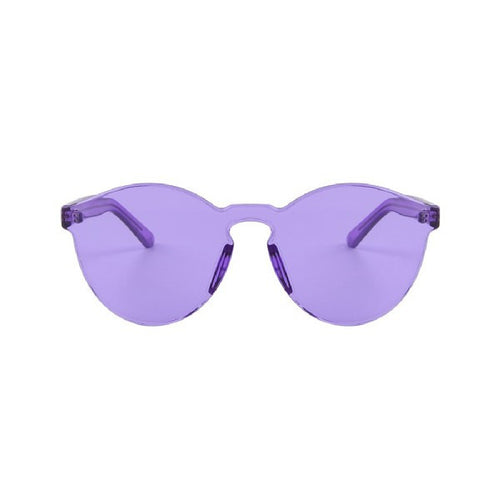 Transparent Candy Colored Sunglasses | Shop Elettra |