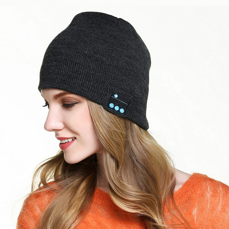 Bluetooth Music Knit Beanie Hat | Shop Elettra |