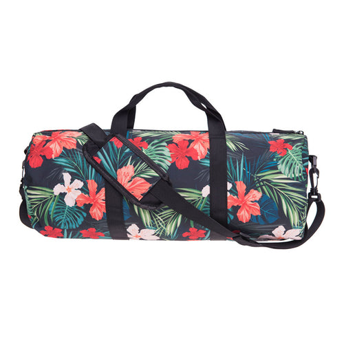 Floral Print Gym Duffel Bag | Shop Elettra |