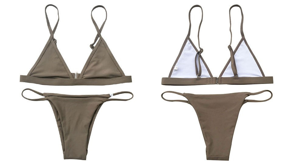 Triangle Brazilian Bikini Set | Shop Elettra |