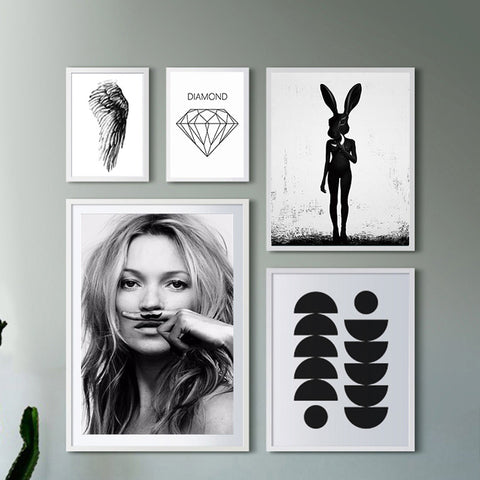 Fashion Designer Canvas Wall Art