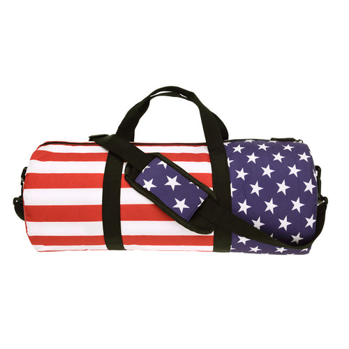 American Flag Duffel Bag | Shop Elettra |