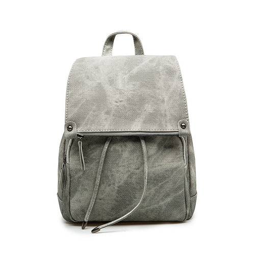 Aged Leather Backpack | Shop Elettra |