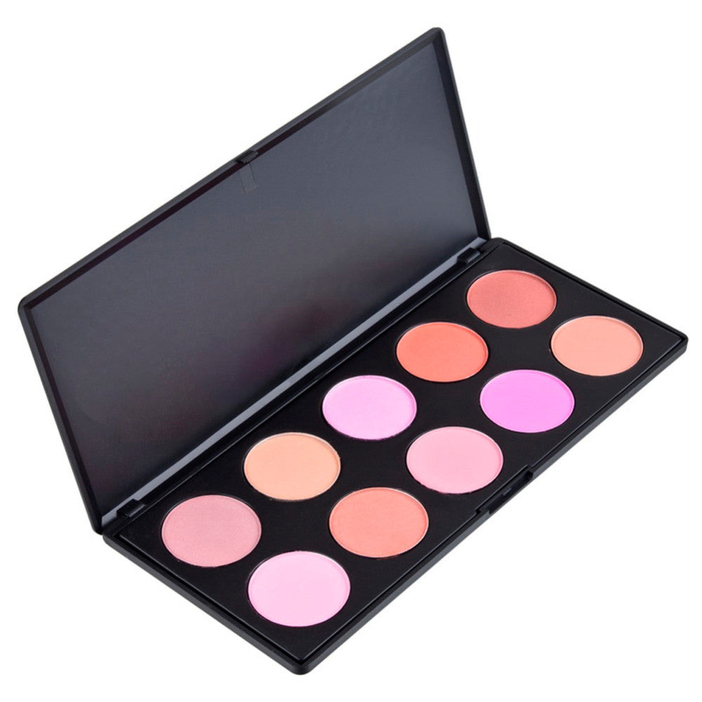 10 Color Creamy Blush Palette | Shop Elettra |