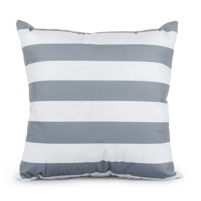 Geometric Gray Pillow Covers | Shop Elettra |