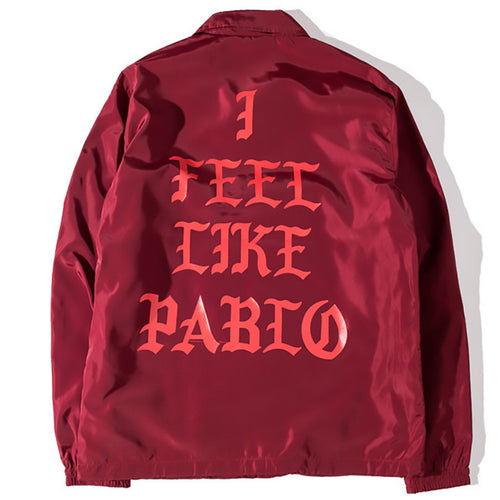 I Feel Like Pablo Yeezy Kanye Bomber Jacket | Shop Elettra |
