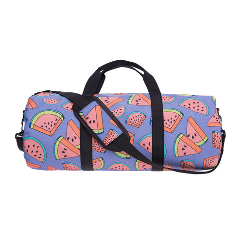 Watermelon Print Duffel Bag | Shop Elettra |