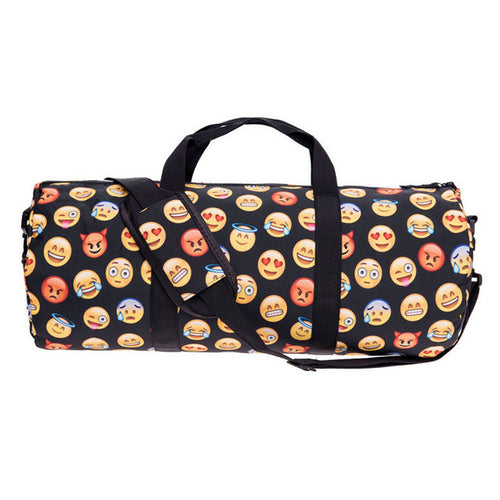 Emoji Faces Gym Duffle Bag | Shop Elettra |