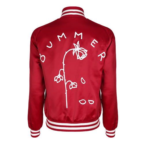 Bummer Red Bomber Jacket | Shop Elettra |