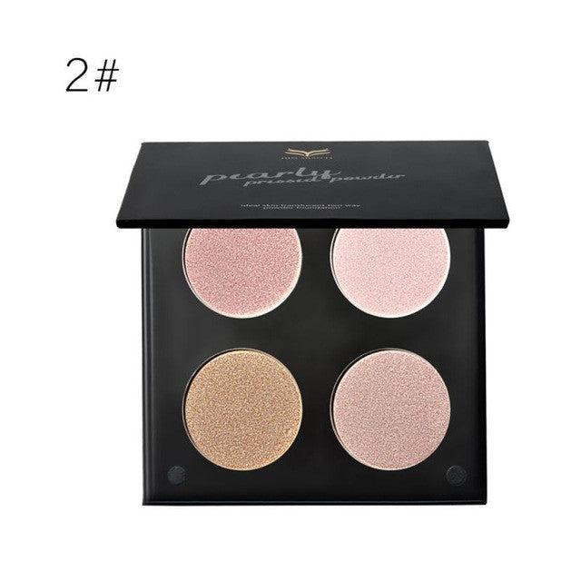 Shimmering Highlight and Contour Palette | Shop Elettra |