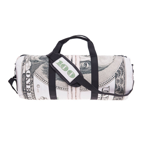 Money Duffel Bag | Shop Elettra |