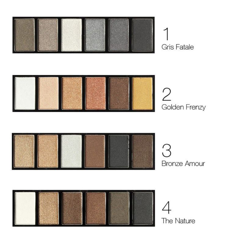 Smokey Shimmer Eyeshadow Palette | Shop Elettra |