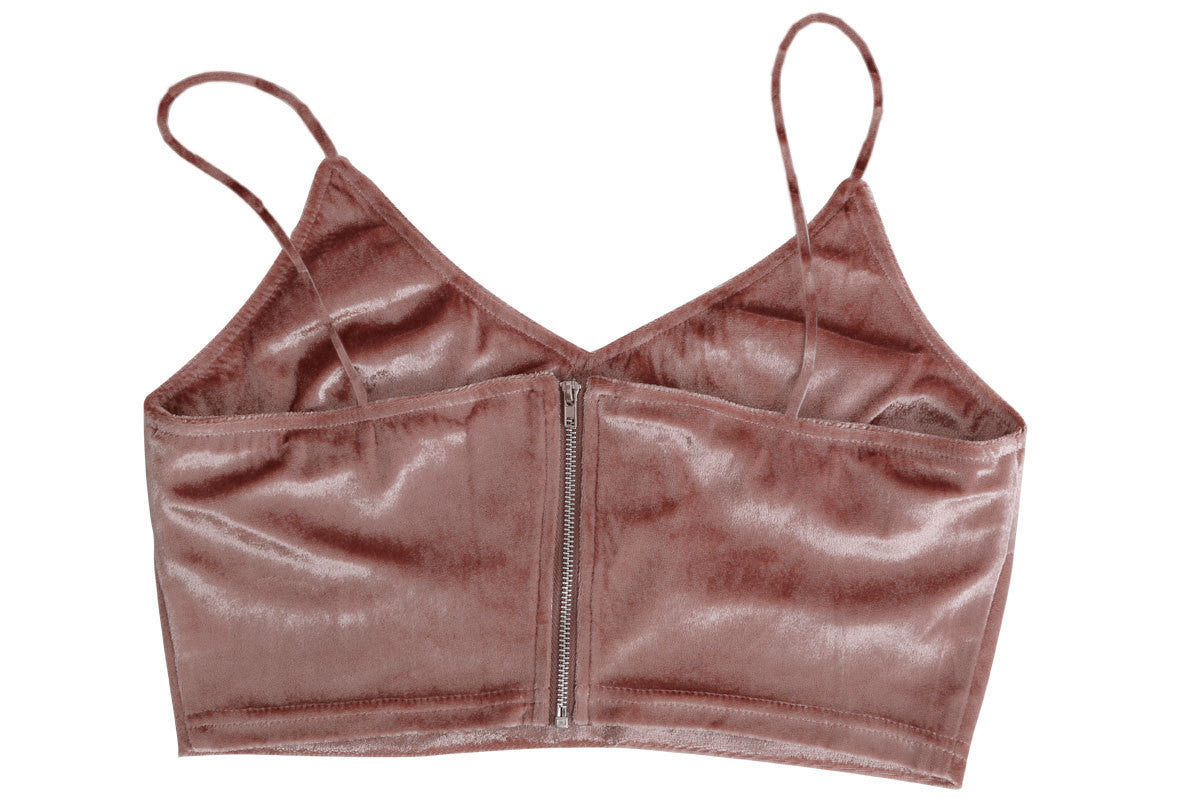 Vita Velvet Cropped Matching Set | Shop Elettra |