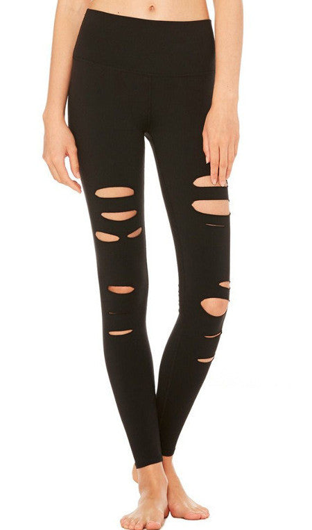 Distressed Ripped Leggings | Shop Elettra |
