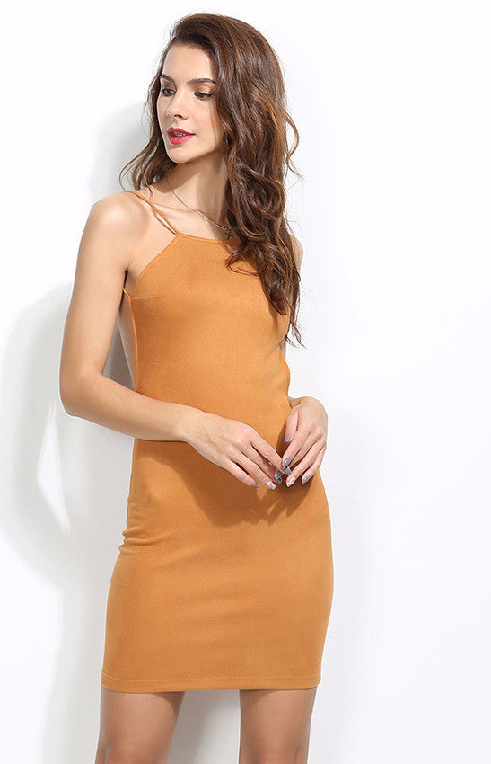 Backless Bodycon Mini Dress | Shop Elettra |