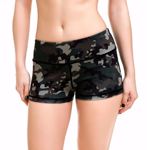 Camo Active Shorts | Shop Elettra |