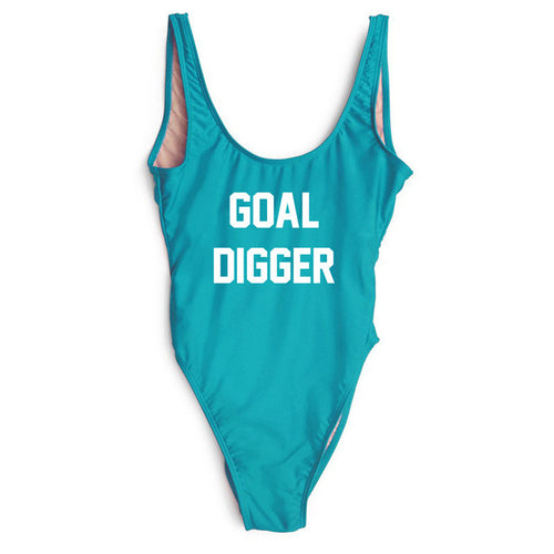 GOAL DIGGER One Piece Bathing Suit | Shop Elettra |