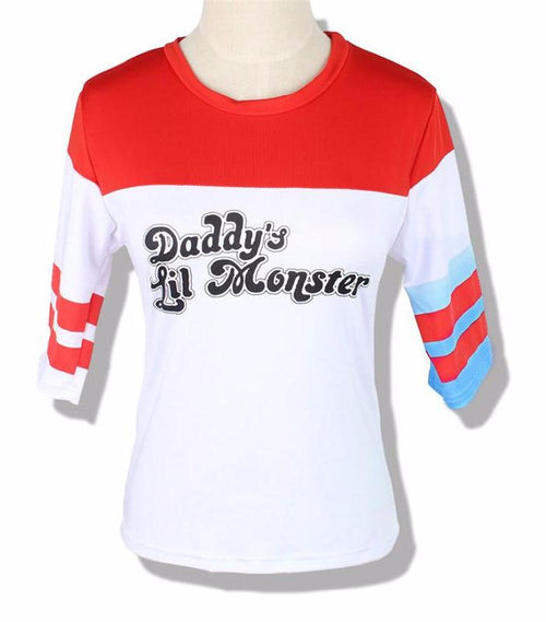 Harley Quinn Daddy's Lil Monster Costume T-Shirt | Shop Elettra |