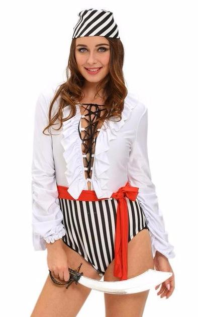 Naughty Scoundrel Pirate Costume | Shop Elettra |