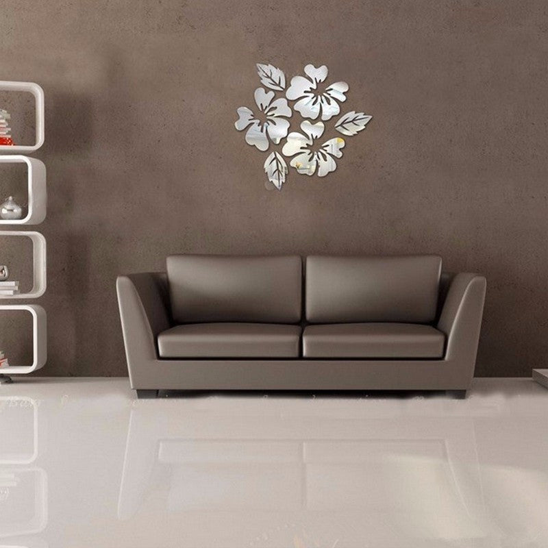 Flower Mirror Wall Decals | Shop Elettra |