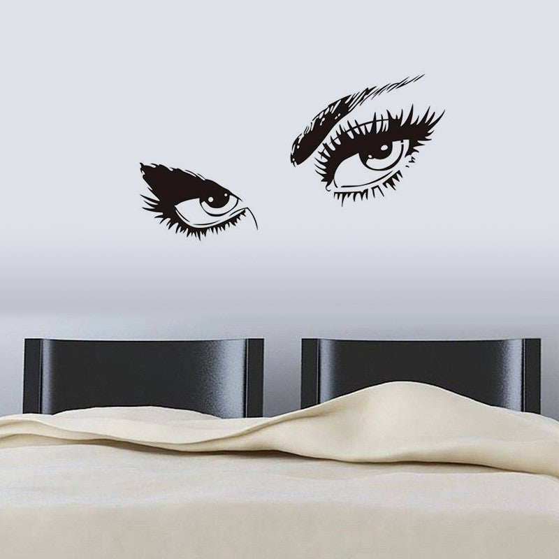 Audrey Hepburn Sexy Eyes Wall Decal Vinyl Stickers | Shop Elettra | & Audrey Hepburn Eyes Wall Decal u2013 Shop Elettra
