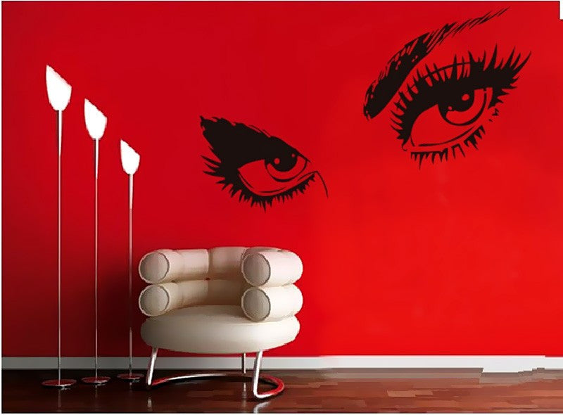 Audrey Hepburn Sexy Eyes Wall Decal Vinyl Stickers | Shop Elettra |