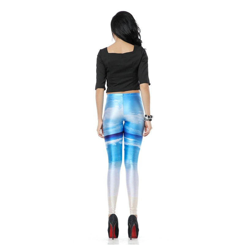 Sweet Sky Leggings | Shop Elettra |