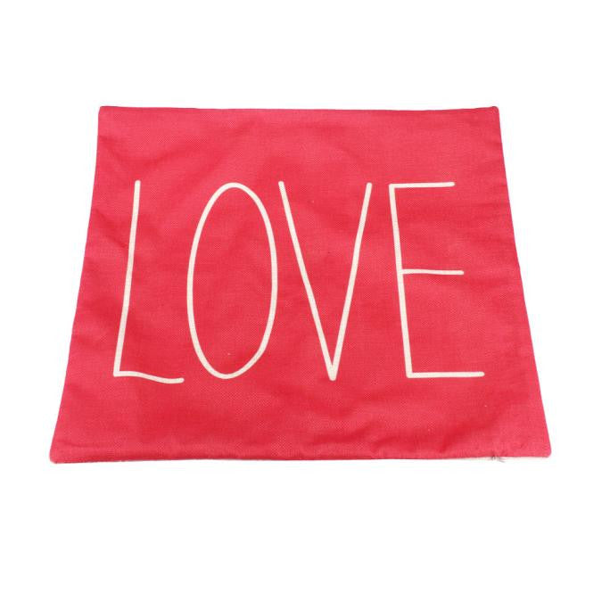 LOVE 18 x 18 Throw Pillow Cover Decor | Shop Elettra |
