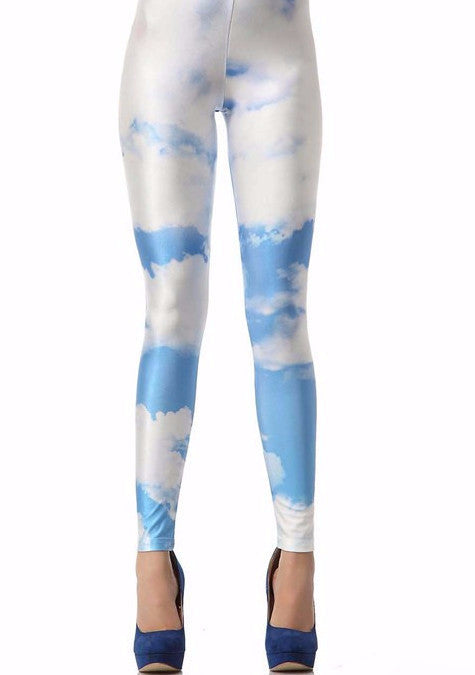 Partly Cloudy Leggings | Shop Elettra |