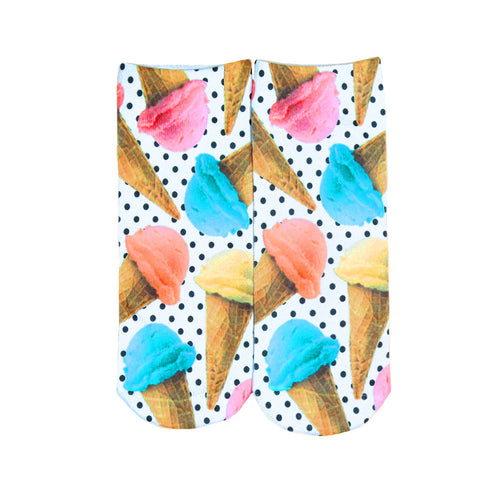 Printed Ankle Socks | Shop Elettra |
