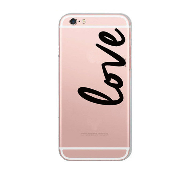 Lover Clear Phone Case | Shop Elettra |