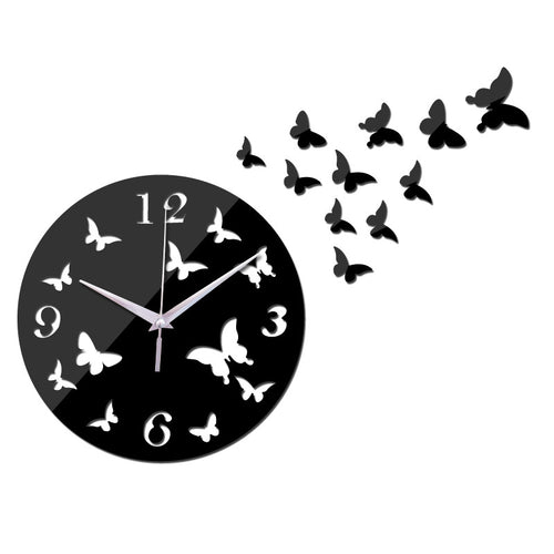 Butterfly Wall Clock | Shop Elettra |