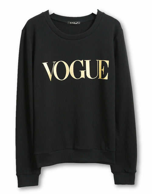 VOGUE Pullover Sweatshirt | Shop Elettra |
