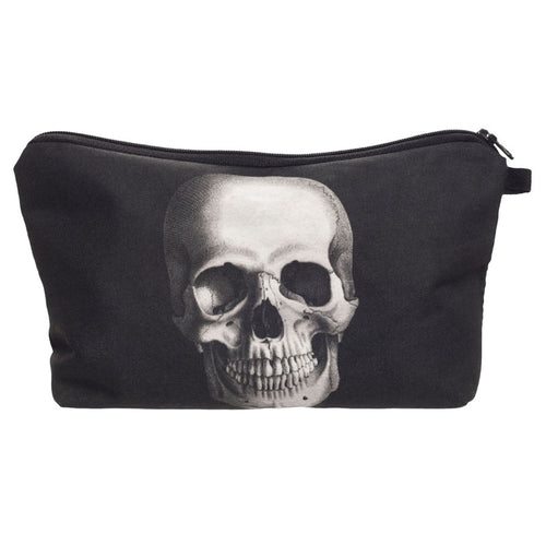 Skull Print Makeup Bag | Shop Elettra |