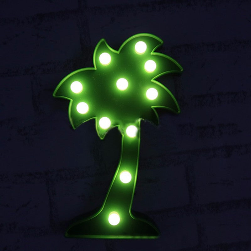 Palm Tree Lovers Marquee Sign LED Lamp | Shop Elettra |