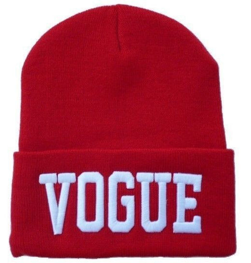 Miss Vogue Knit Beanie Hat | Shop Elettra |