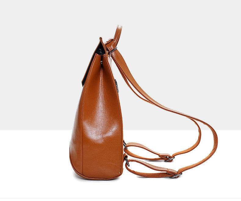 Vegan Leather Backpack | Shop Elettra |