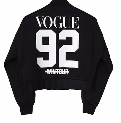 Wintour Vogue Pullover Sweatshirt | Shop Elettra |