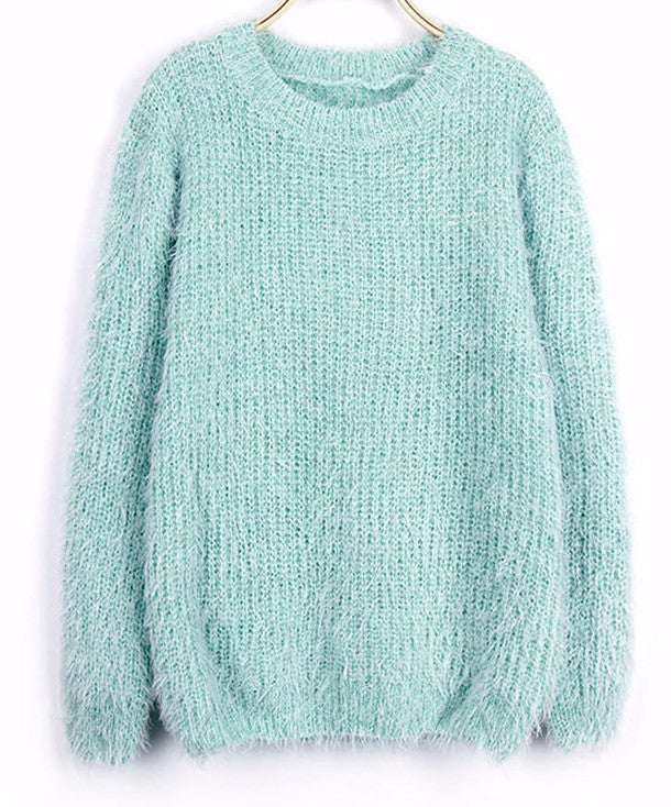 Mindy Mohair Pullover Sweater | Shop Elettra |