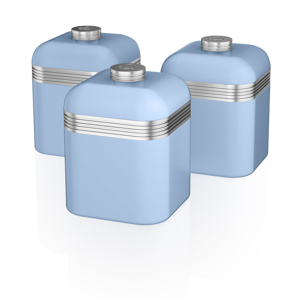 Swan Retro Set of 3 Canisters – Swan USA