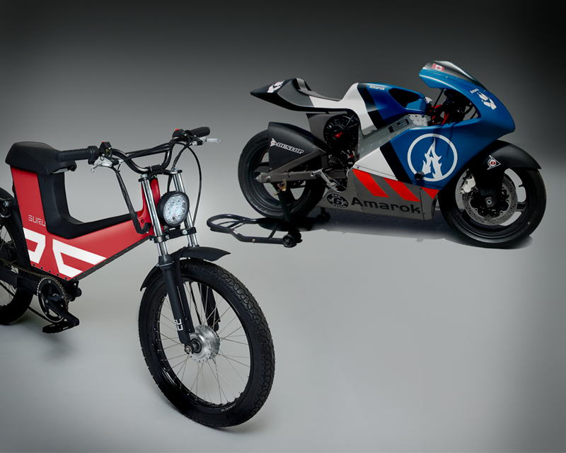 Electric Motorcycle Design Pioneers