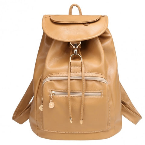 Vintage Style Soft Rucksack Bags