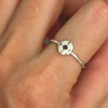 solid 925 sterling silver Compass Ring