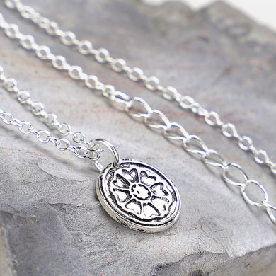 sterling silver Avatar the last airbender whitelotus necklace flower necklace Valentine's Day gift