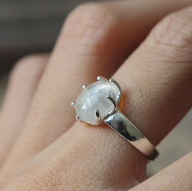 antique silver ring White crystal ring adjustable jewelry lady gift Victoria Birthstone Rings,fashion style ,wedding jewelry,evening, gift,