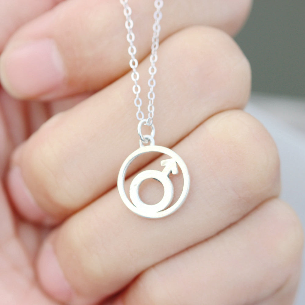 Load image into Gallery viewer, Sterling silver Planet necklace,Solar System,Planet symbol,Planets,Space jewelry, gift idea