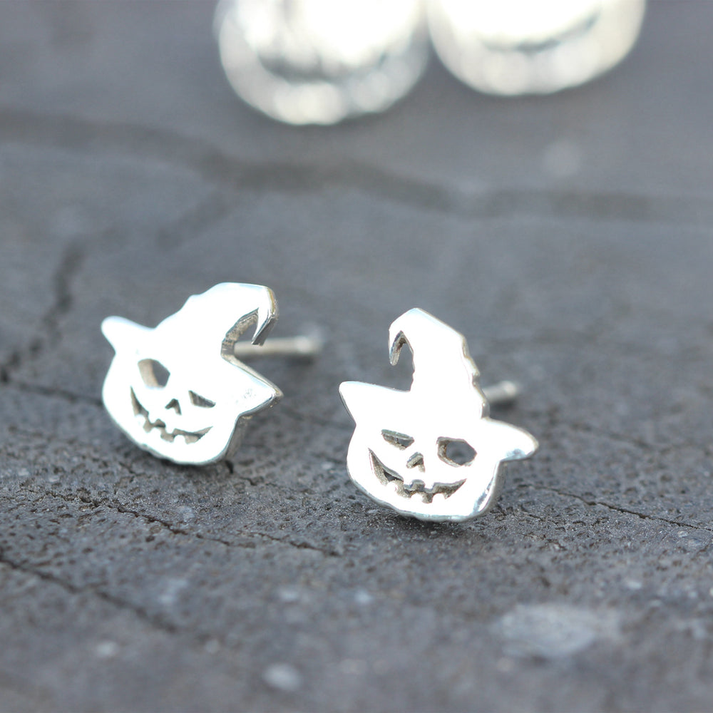 925 sterling silver Halloween ghost earrings